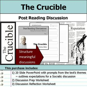 The Crucible Socratic Method Post Reading Discussions By S J Brull