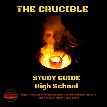 Literature - The Crucible Study Guide