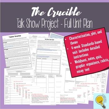The Crucible Talk Show Bundle