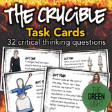 The Crucible Task Cards: Activities, Quizzes, Discussion Questions