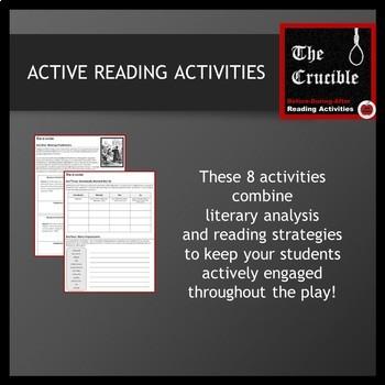 The Crucible--Teaching Resource Bundle