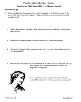 Salem Witch Trials Unit | Salem Witch Trials Informational Text | Primary