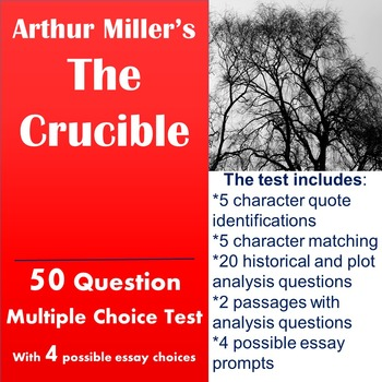 The Crucible Test with Passage Analysis