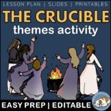 The Crucible Themes Textual Analysis Activity