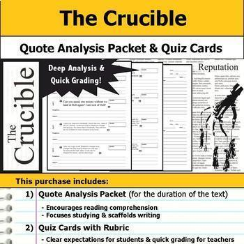 The Crucible Complete Unit Plan