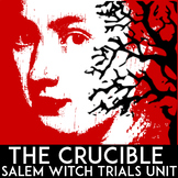 The Crucible Unit | Act 1, 2, 3, & 4 | Questions, Tests, Q