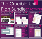 The Crucible Unit Plan Bundle - Activities and Assessments