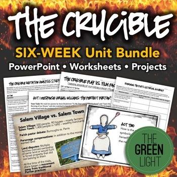 The crucible teaching resources teachers pay teachers handouts the crucible unit plan bundle worksheets powerpoint handouts fandeluxe Choice Image