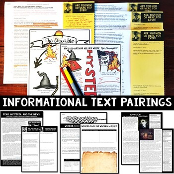 The Crucible Unit Plan with Activities +Informational text +Common Core