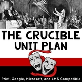 The Crucible Unit Plan with Engaging Activities and Informational Text