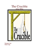The Crucible Unit Plan with Lessons, Activities, and Assessments