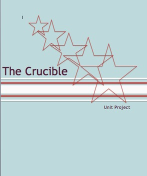 The Crucible Unit Project:  Research and Real World Writing #edtech