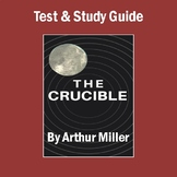 """The Crucible"": Unit Test, Study Guide, & Answer Key"