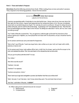 The Crucible - Unit Test w/ Supplementary Doubt Passage