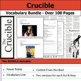 Crucible Vocabulary Bundle