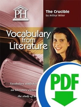 The Crucible Vocabulary from Literature