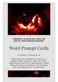 The Crucible Word Prompt Cards
