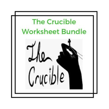 The Crucible Worksheet Bundle