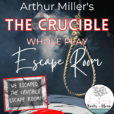 """The Crucible"" Escape Room: Engaging Post-Reading Whole Play Review Activity"