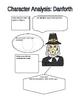 The Crucible: character analysis charts
