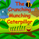 The Crunching Munching Caterpillar book study- life cycle, mini beasts