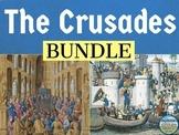 The Crusades Activities Bundle