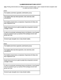 The Crusades - Claim/Evidence Matching Activity