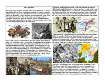 The Crusades: Create a Storyboard