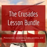 The Crusades - Lesson Bundle
