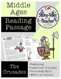 The Crusades Reading Passage Middle Ages