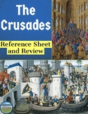 The Crusades Reference Sheet and Review