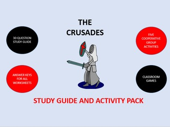 The Crusades: Study Guide and Activity Pack