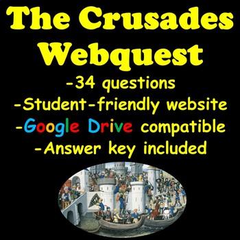 The Crusades Webquest