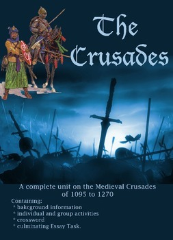 The Crusades of the Middle Ages Student workbook