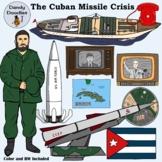 The Cuban Missile Crisis Clip Art by Dandy Doodles