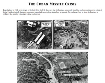 The Cuban Missile Crisis: Readings and Assignments