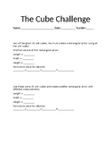 The Cube Challenge!