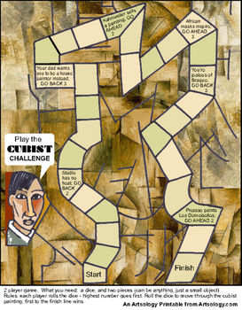 The Cubist Challenge Game