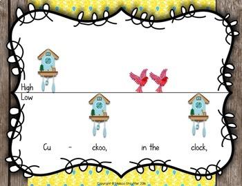 The Cuckoo Clock {Steady Beat} {Rhythm} {Ta TiTi} {High Low} {Sol Mi}