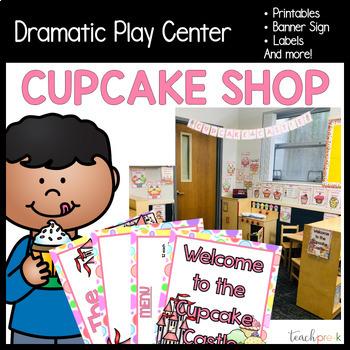 Cupcake Shop Dramatic Play