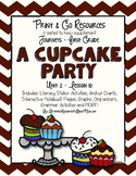 The Cupcake Party - Journeys First Grade Print and Go