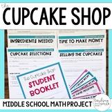 The Cupcake Shop Math Project