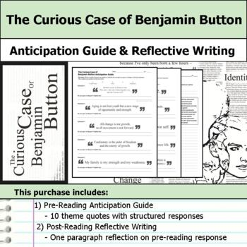 The Curious Case of Benjamin Button - Anticipation Guide & Reflection Writing