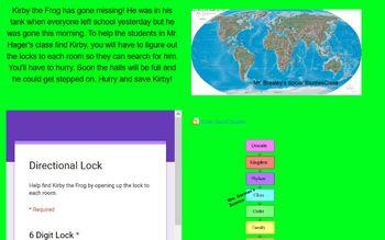 Kirby the Frog Digital Breakout (Integers)