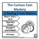 The Curious Coin Reading Mystery  Comprehension Activity