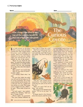 The Curious Coyote Cold Read
