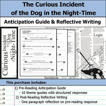 The Curious Incident of the Dog in the Night-Time - Anticipation Guide