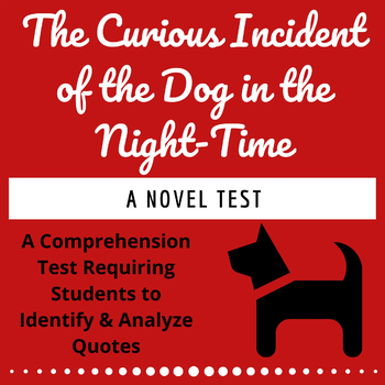 The Curious Incident of the Dog in the Night-Time: Comprehension Quotes Test