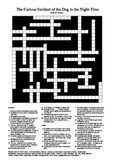 The Curious Incident of the Dog in the Night-Time - Crossword Puzzle
