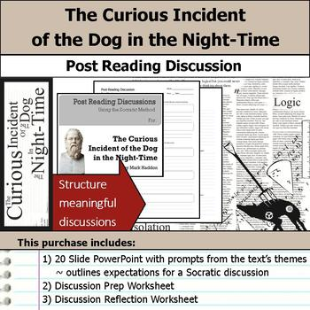 The Curious Incident of the Dog in the Night-Time - Post Reading Discussions